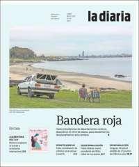 Portada de La Diaria (Uruguay)