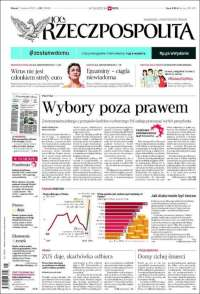 Portada de Rzeczpospolita (Polonia)