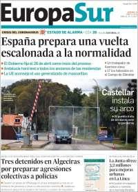 Portada de Europa Sur (España)