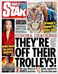 Portada de Daily Star (United Kingdom)