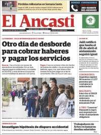 Portada de El Ancasti (Argentina)