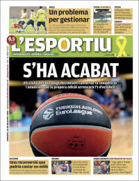 Portada de L'Esportiu (Espagne)