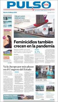 Portada de Pulso (Mexique)