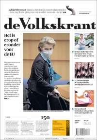 Portada de De Volkskrant (Pays-Bas)
