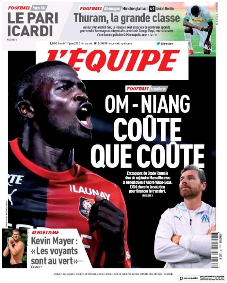 Affiche de L'Equipe (France)