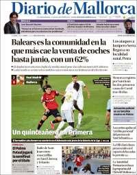 Portada de Diario de Mallorca (Spain)