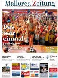 Portada de Mallorca Zeitung (Spain)