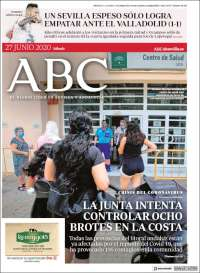 Portada de ABC - Sevilla (Spain)