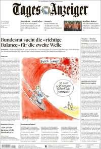 Portada de Tages-Anzeiger (Switzerland)