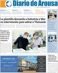 Portada de Diario de Arousa (Spain)