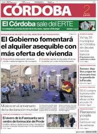 Portada de Diario de Córdoba (Spain)