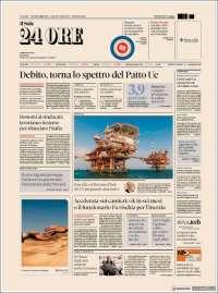 Portada de Il Sole 24 ORE (Italy)