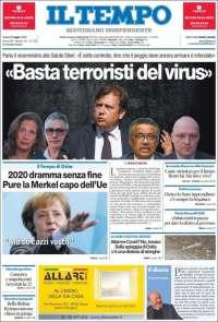 Portada de Il Tempo (Italy)