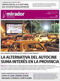 Portada de Mirador Provincial (Argentine)