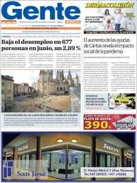 Portada de Gente en Burgos (Espagne)