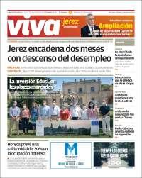 Portada de Viva Jerez (Espagne)
