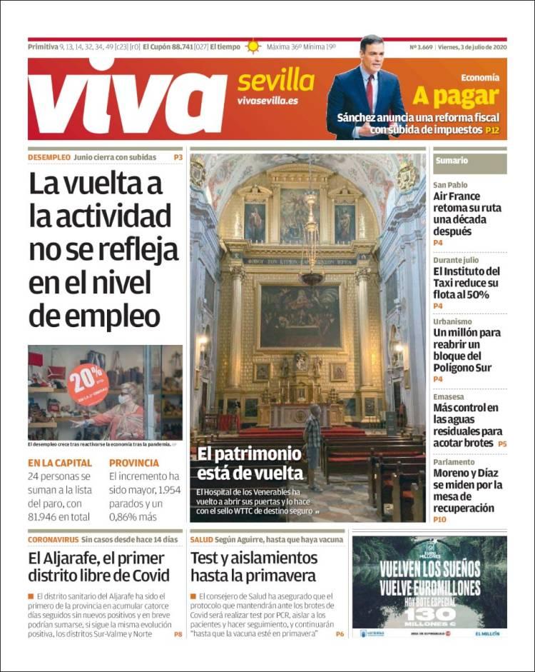 Portada de Viva Sevilla (Espagne)