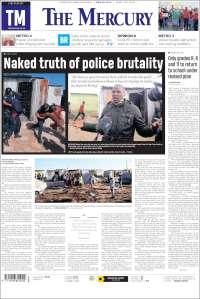 Portada de The Mercury (Sudáfrica)
