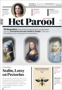 Portada de Het Parool (Países Bajos)