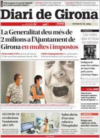 Portada de Diari de Girona (Spain)