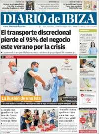 Portada de Diario de Ibiza (Spain)