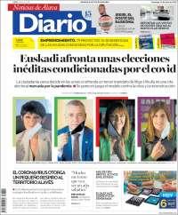 Portada de Noticias de Álava (Spain)