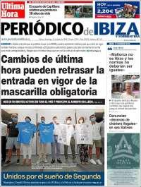 Portada de Periódico de Ibiza (Spain)
