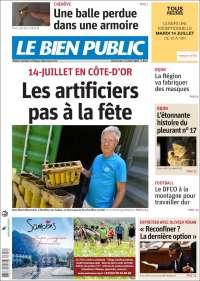 Portada de Le Bien Public (France)