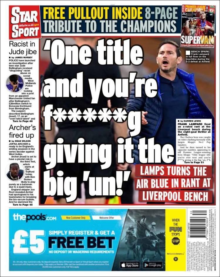 Affiche de Star Sport (Royaume-Uni)