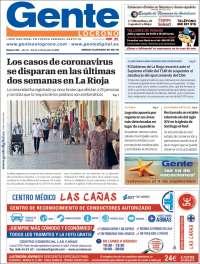 Portada de Gente en Logroño (Spain)