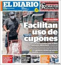 Portada de El Diario NY (États-Unis)