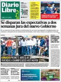 Portada de Diario Libre (R. Dominicaine)