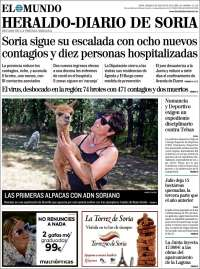 Portada de Diario de Soria (Spain)