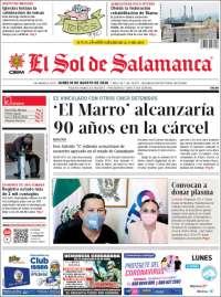Portada de El Sol de Salamanca (México)