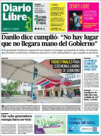 Portada de Diario Libre (Dominican Rep.)