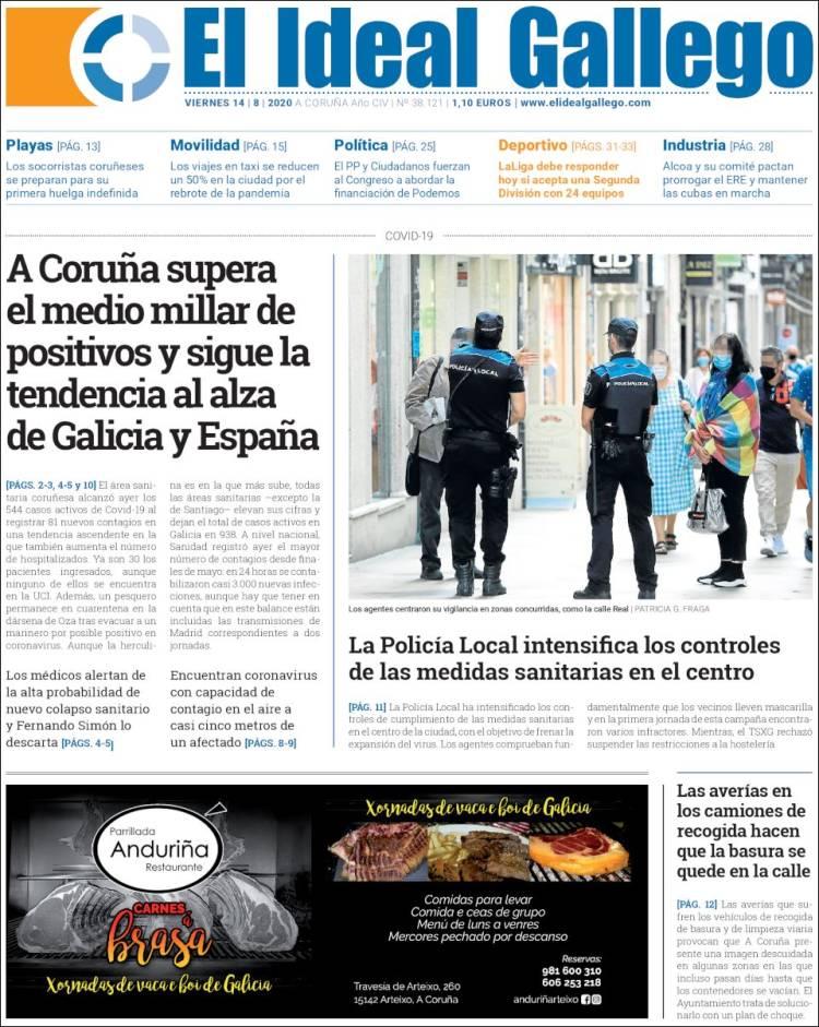 Portada de Diario de Ferrol (Spain)