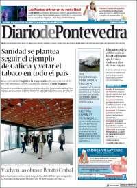 Portada de Diario de Pontevedra (Spain)