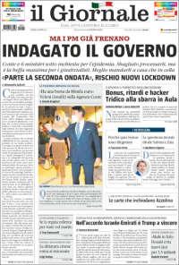 Portada de il Giornale (Italy)