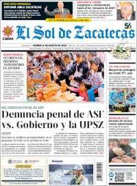 El Sol de Zacatecas