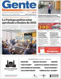 Portada de Gente en Santander (Spain)
