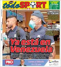 Portada de TodoSport (Peru)