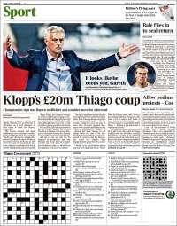 Portada de The Times Sport (United Kingdom)
