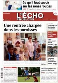 Portada de L'Echo Républicain (France)