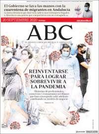 Portada de ABC - Sevilla (Spain)