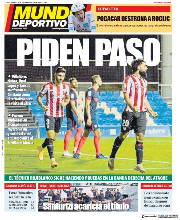 Portada de Mundo Deportivo Bizkaia (Spain)