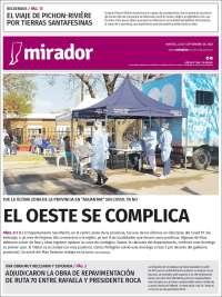 Portada de Mirador Provincial (Argentina)