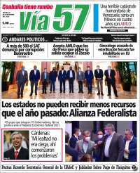 Portada de Via57 (Mexique)