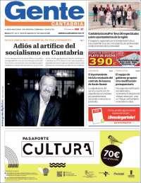 Portada de Gente en Santander (España)