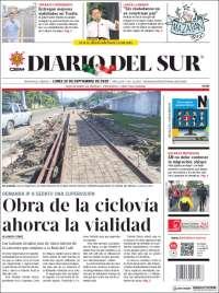 Portada de El Diario del Sur (Mexico)