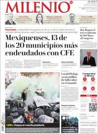 Portada de Milenio - Estado de México (Mexico)
